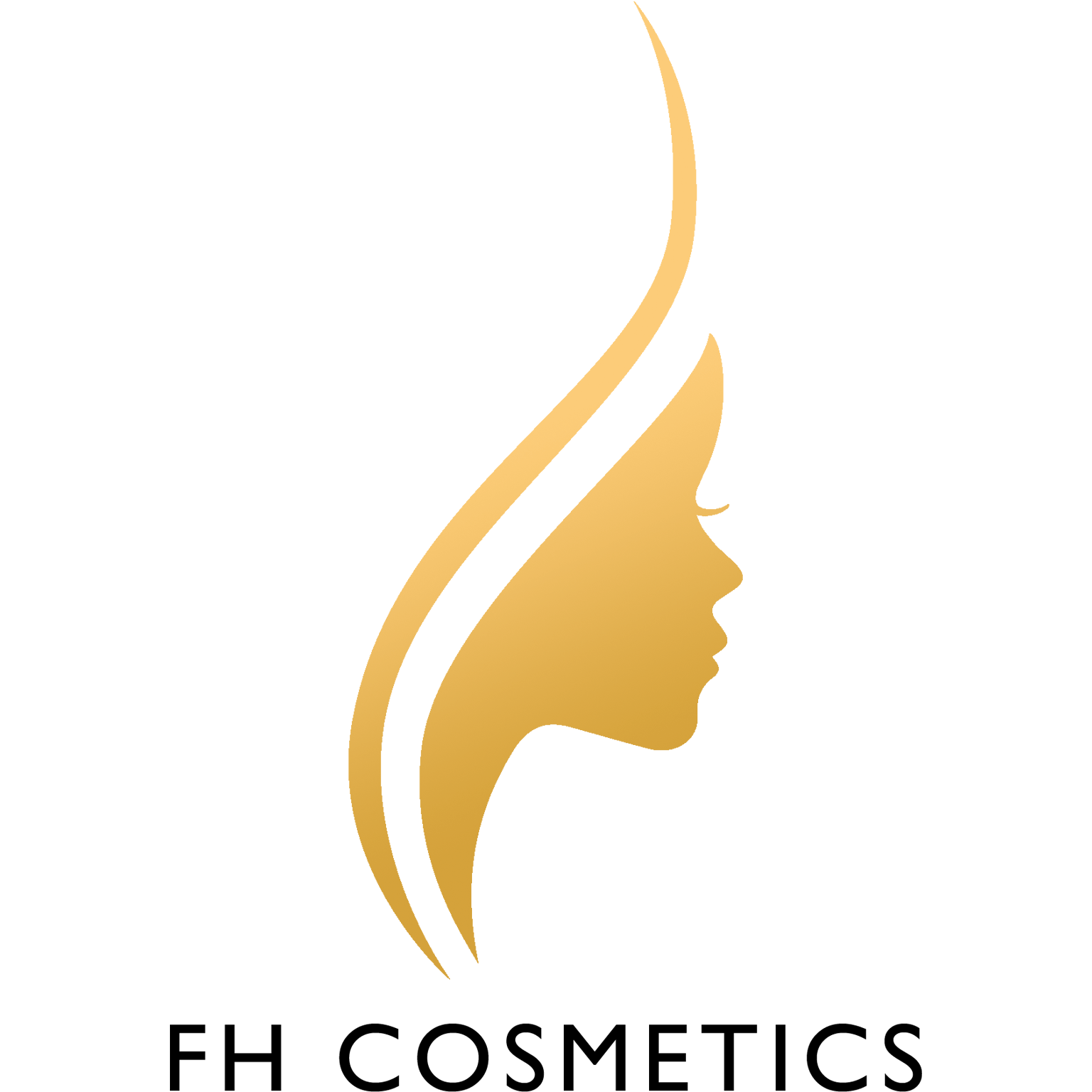 FH Cosmetics Logo Gold